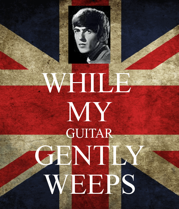 The Beatles - While My Guitar Gently Weeps (ноты для гитары, табы GP4, вариация)
